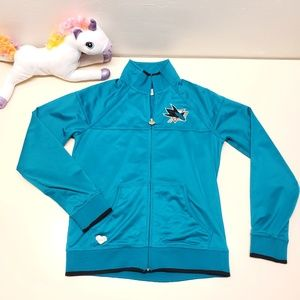 Licensed NHL Reebok San Jose Sharks Jacket